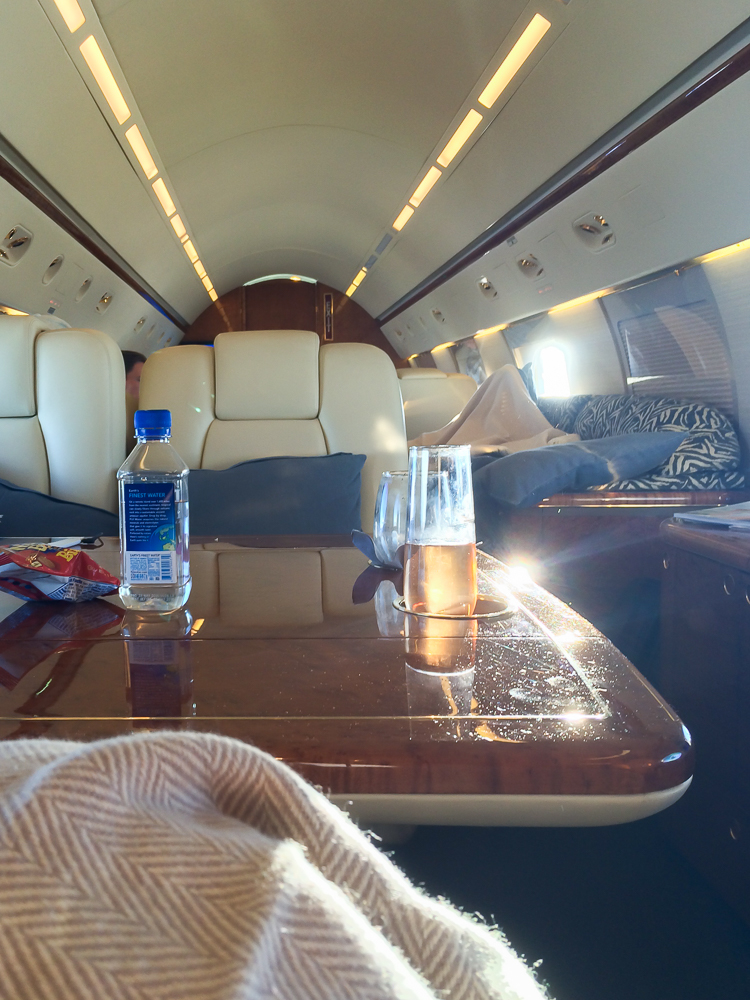 What It's Like to Fly on a Private Jet | Thought & Sight