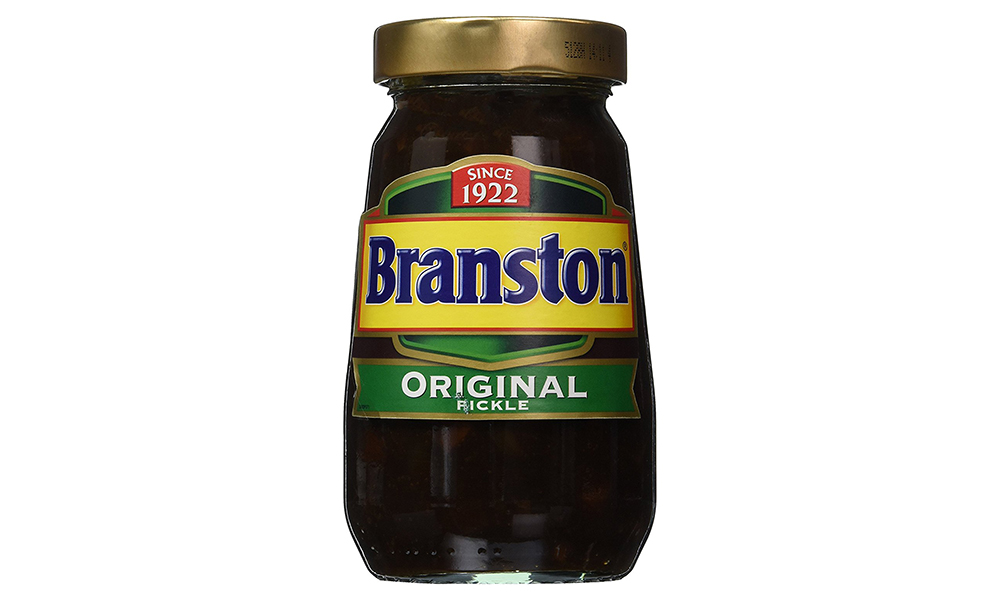 Popular International Condiments: Branston Pickle